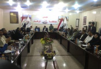 مجلس ذي قار يعقد جلسة طارئة مغلقة لبحث مطالب المنظاهرين