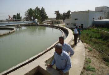 ماء ذي قار تطالب بتخصيصات كافية لاستئناف مشروع ماء الناصرية