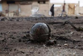 إصابة ثلاثة اشخاص بجراح اثر انفجار مخلفات حربية جنوبي الناصرية