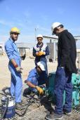 شعبة صيانة رؤوس الابار في قسم هندسة النفط ...بانجازنا للاعمال التخصصية استطعنا توفير كلفا عالية