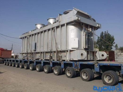 بالصور :الناصري يعلن وصول محولة كهرباء جديدة ويعد بزيادة التجهيز