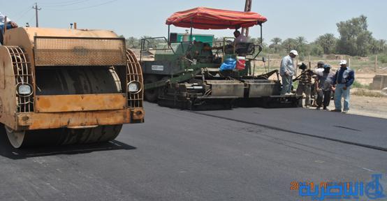 وزارة الاعمار تباشر بانشاء مدخل جديد لقضاء الشطرة بكلفة 883 مليون دينار