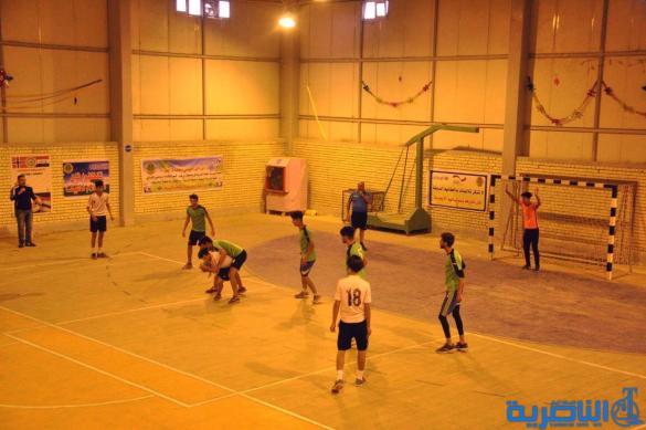 ثلاث مدارس تحرز المراكز الاولى في بطولة اليد لمدارس الناصرية