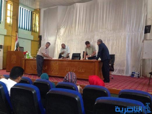 بيطريو ذي قار يجددون الثقة بالدكتور جليل عبد غاطي نقيبا لهم لدورة ثانية - تقرير مصور -