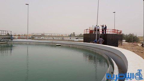 عطل في كهرباء الشطرة يتسبب بتوقف مشروع ماء الناصرية العملاق