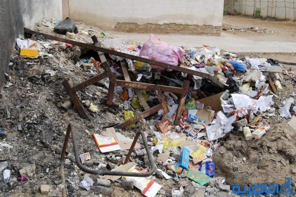 بيئة ذي قار تنظم حملة لرفع الانقاض من مدارس المحافظة -تقرير مصور-