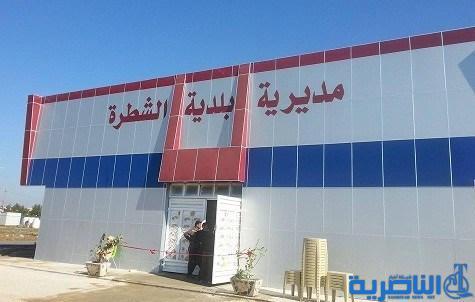 بلدية الشطرة : أكساء الشوارع مرهون بانجاز مشروع المجاري