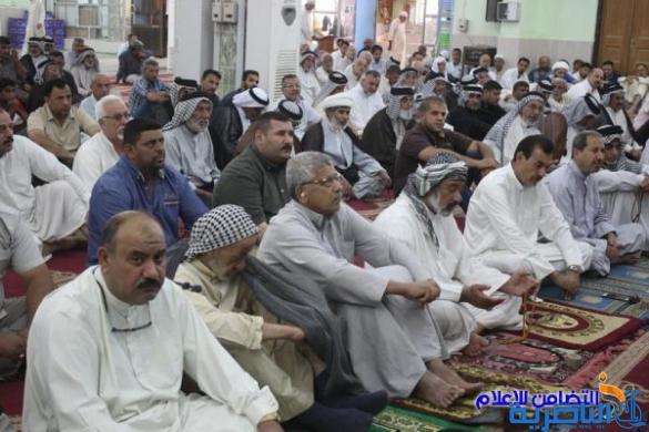 التغطية الإعلامية لإقامة صلاة الجمعة بجامع الشيخ عباس الكبير وسط الناصرية