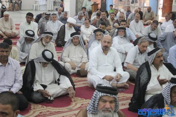 صلاة الجمعة في مدينة الناصرية - تقرير صوتي مصور -