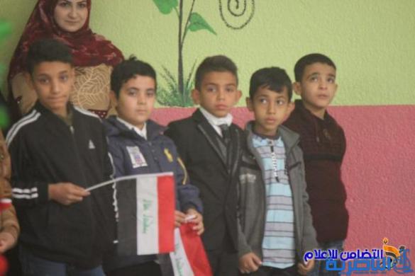 مبرة التضامن للأيتام في سوق الشيوخ تحتفل بافتتاح ملعب مدرسي وحديقة لتلاميذها