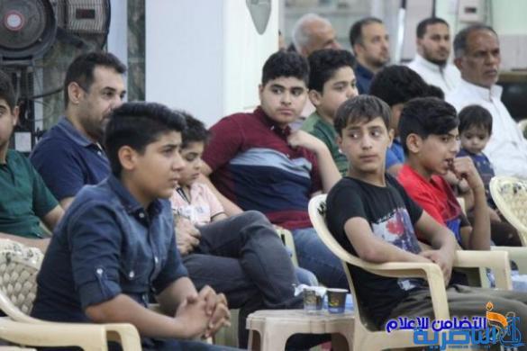 الترغيب والتشويق ..يستقطب الشباب للمسابقات الرمضانية بجامع الشيخ عباس الكبير