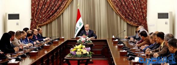 الناصري:رئيس الجمهورية وعد ذي قار بتمثيل وزاري , ولجان لمتابعة ملفاتها الخدمية