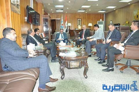 الناصري يلتقي وزير الكهرباء ويبحث معه ملف المطار واستحقاقات ذي قارمن المديريات العامة