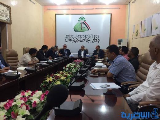الناصري: محطات الماء توقفت لقلة تجهيز الكهرباء والوزارة وعدت بمعالجة الازمة في ذي قار