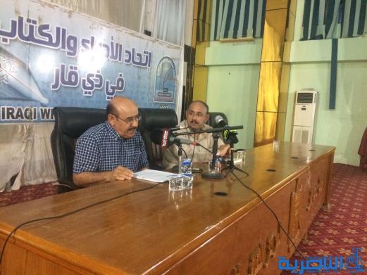اتحاد الادباء في ذي قار يحتفي بالقاص نهاد عبد جودة