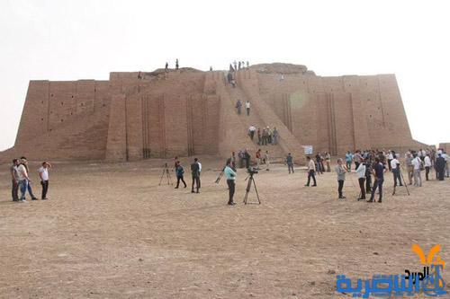 مدينة أور الاثرية تستقبل ثلاثة وفود سياحية