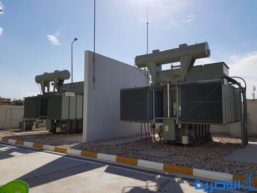 محافظ ذي قار يفتتح محطة تحويل كهرباء اريدو بكلفة تزيد عن ٤مليارات دينار