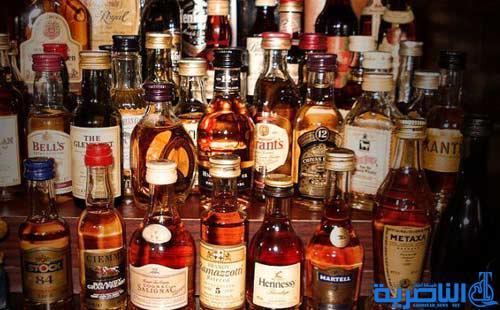 الشرطة تضبط مشروبات كحولية في مراب جنوبي الناصرية