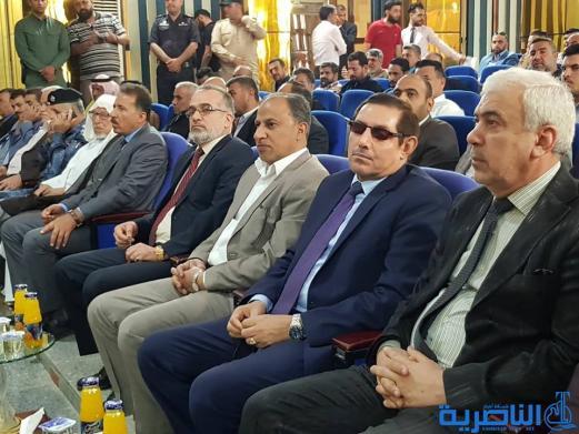 محافظ ذي قار يشارك في حفل يوم السجين العراقي ويؤكد توزيع الاف قطع الاراضي لشريحة السجناء