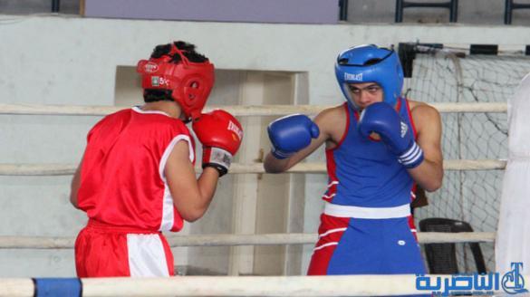 الناصرية تحصد الميدالية البرونزية في بطولة الناشئين بالملاكمة
