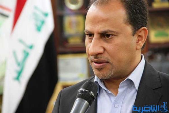 الناصري يطالب الصليب الاحمر ببرامج تطويرية لضحايا الالغام والسيول في ذي قار