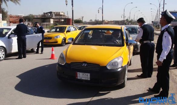 بعد اعتداءات فدك ، الناصرية تحظر سير العجلات المظللة
