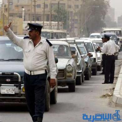 بعد تزايد حوادث المرور فيها ، سوق الشيوخ تفرض 180 غرامة مرورية في يوم واحد