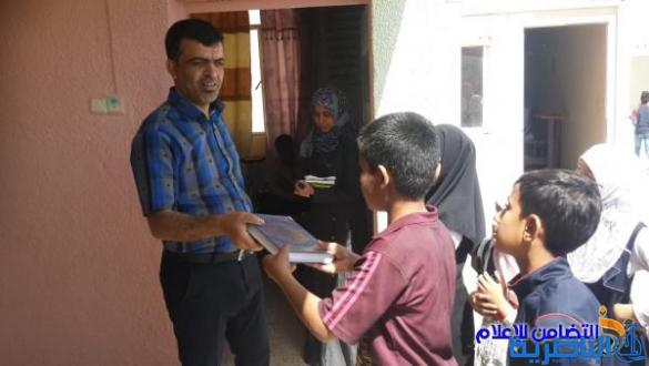 بالصور:تكريم المتميزين والمبدعين بمدارس التضامن لرعاية وتاهيل الايتام المنتشرة في محافظة ذي قار