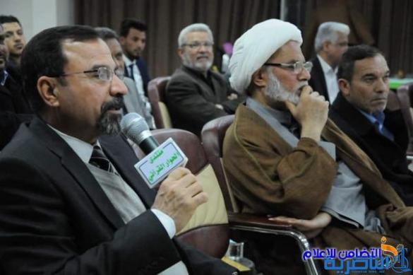 بحضور الشيخ محمد مهدي الناصري ... أنعقاد الجلسة الـ96 لمنتدى الحوار القرآني في ذي قار (مصور)