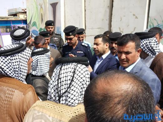 مواطنون من قرى الفريحية والصخيين والزهيرية يتظاهرون لتحسين الخدمات