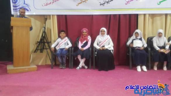 """اختيار مبرة التضامن السادسة للأيتام ممثلا لمدارس ذي قار في المهرجان الختامي لمسابقة """"الحسيني الصغير"""""""