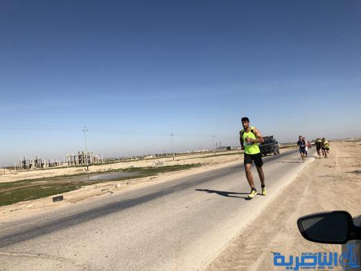 بالصور:الناصرية تحتضن بطولة العراق لسباقات الطريق