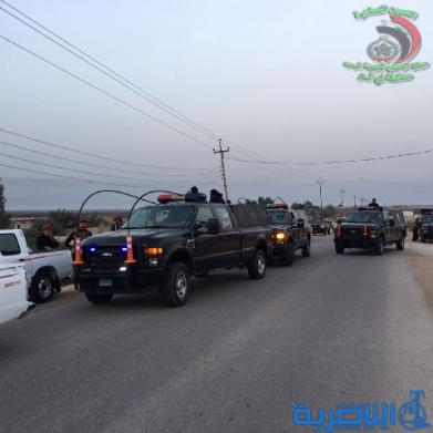 الشرطة تعتقل عدد من المطولبين في ممارسة امنية في الجبايش