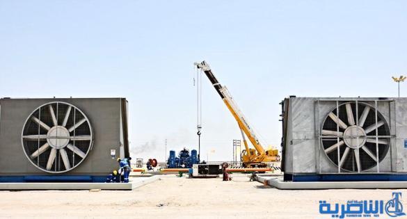 ذي قار تستعد لإنتاج الغاز المصاحب لأول مرة من حقل الناصرية النفطي - تقرير مصور -
