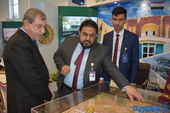 شركة نفط ذي قار تستقطب اهتماما دوليا في مشاركتها بمعرض بغداد الدولي