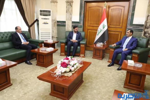 الناصري : بغداد وذي قار يشكلان لجنة عمل لانجاز ماتبقى من المدينة الصناعية