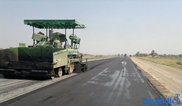مسؤول محلي : طريق ( الفجر – ال بدير ) لم يعد صالحا للسير