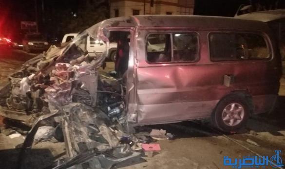 مصرع طالبة جامعية وإصابة 7 آخريات مع سائقهن في حادث سير جنوب الناصرية