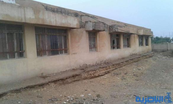 بالصور: مدرسة في الرفاعي ايلة للسقوط توزع طلبتها على المدارس القريبة منها