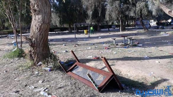 بلدية الناصرية: خسائرنا بالملايين في متنزه المحافظة