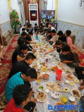 مبرة التضامن الثامنة في الإصلاح تنظم حفل إفطار جماعي لتلاميذها الأيتام.