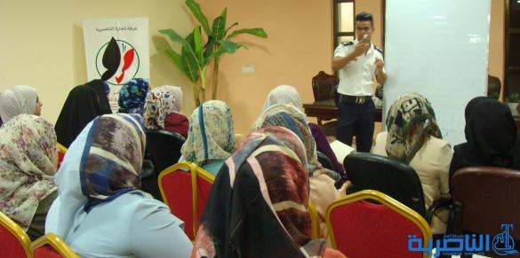 مركز سيدات الأعمال في غرفة تجارة الناصرية ينظم دورة مكثفة للمرأة لتعليم أساسيات قيادة السيارة من / فوزي التميمي