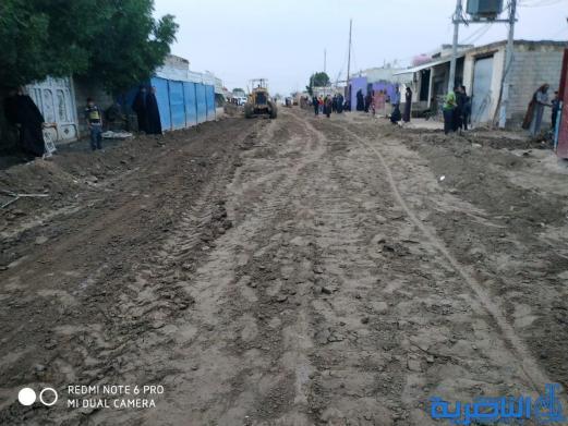 سيد دخيل: إعادة إعمار طريق يربط أكثر من 25 قرية