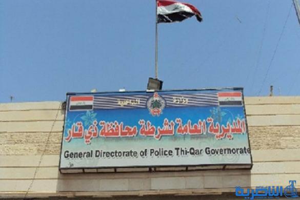 شرطة ذي قار تضبط بغداديا يهرب النفط الابيض بطريقة مبتكرة