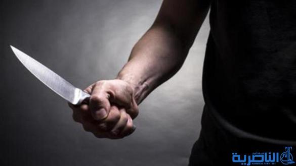 مختل عقليا يقتل شقيقه بخمس طعنات سكين وسط الناصرية