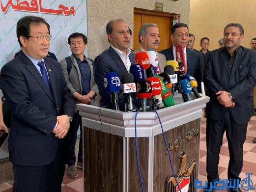 كوريا تتعهد بتوسعة مركز الناصرية للقلب ، وحكومة ذي قار ترحب