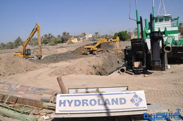 محافظ ذي قار يفتتح ستة مشاريع خدمية بكلفة سبعة مليارات دينار في ناحية كرمة بني سعيد المتاخمة للاهوار