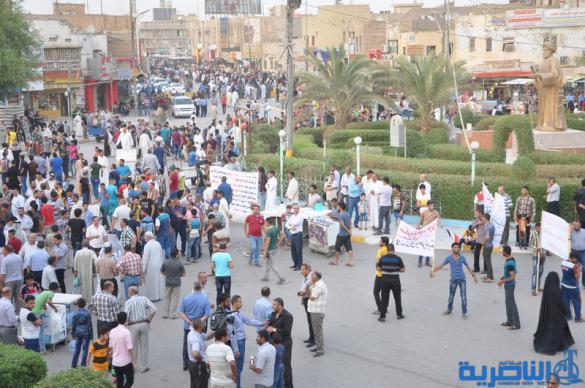 تظاهرات الناصرية ت