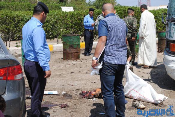 شبكة اخبار الناصرية تنفرد بنشر صور الانتحاري الذي فجر نفسه جنوبي الناصرية