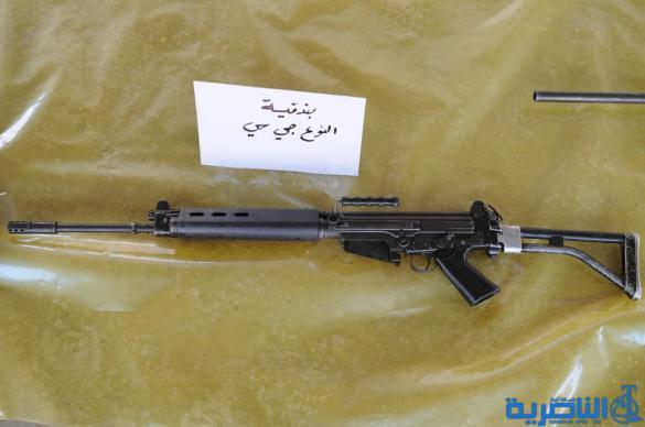 شرطة ذي قار تضبط اسلحة ثقيلة ومتوسطة في ناحيتي الفهود والدواية